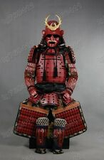 Iron & Silk Japanese Red Rüstung Art Samurai Warrior Armor wearable