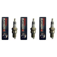 NEW BOSCH 4017 PLATINUM PLUS SPARK PLUG SET (3)