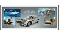 GB 2020 Commemorative Stamps~James Bond~M/S~Unmounted Mint Set~ UK Seller