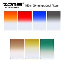 ZOMEI 150mmx100mm Graduated Square Filter Kit  7 colors for Cokin Z-Pro Series