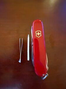 1 Victorinox Swiss Army Knife: Swiss Champ, Huntsman, Climber, Camper, etc