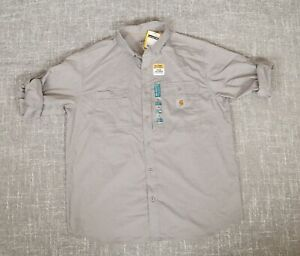 Carhartt Force® Ridgefield Solid Long Sleeve Shirt Men's XL