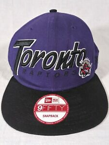 New Era 59FIFTY NBA Toronto Raptors Hardwood Classics Purple Snapback Hat Cap