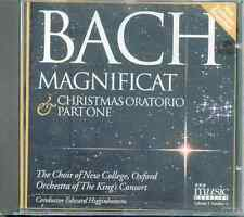 JS BACH: MAGNIFICAT + CHRISTMAS ORATORIO PT 1 / CHOIR OF NEW COLLEGE OXFORD ETC