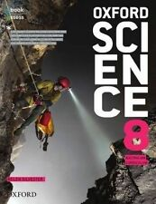 OXFORD SCIENCE 8 Student Book + Obook Assess by Helen Silvester BNew FREE Ship