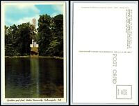 INDIANA Postcard - Indianapolis, Butler University, Carillon & Pool D10