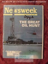 NEWSWEEK September 22 1969 GREAT OIL HUNT ALASKA Vietnam War Campus Protest NASA