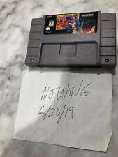 Mega Man 7 VII (Super Nintendo 1995) SNES Cart & Manual. Rare game! Players copy