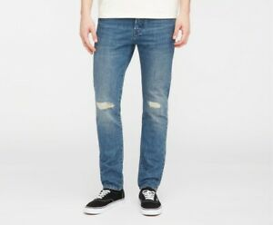 JEANS EDWIN HOMME ED 80 SLIM TAPERED (kingston sandpiper repair wash) W34 L32