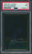 1994-95 Upper Deck Collector's Choice Gold Signature Michael Jordan #23 PSA 9