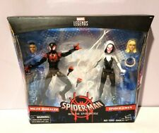 HASBRO MARVEL LEGENDS INTO THE SPIDERVERSE 2 PK MILES MORALES & SPIDER-GWEN