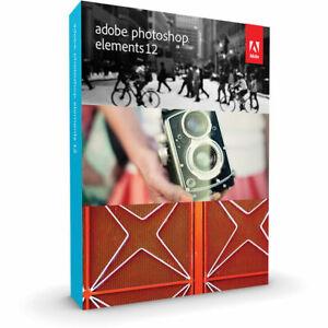 Adobe Photoshop Elements 12 PC and Mac