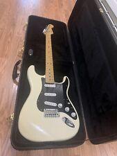 2000 Fender American Standard Stratocaster Guitar Olympic White