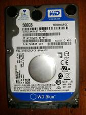 "Western Digital 500GB 2.5""  Hard Drive  2.5 SATAIII  7MM  PC2 PS3 PS4"