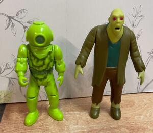 "2x Character Options Scooby Doo 5"" Figures Zombie Ghost Monster Captain Cutler"