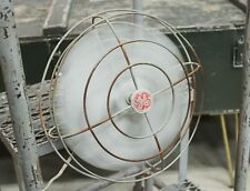 Vintage Industrial Working GE Wall Mount Workshop Fan