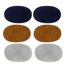 3pcs Coude Genou Patchs Applique de Couture Coudière pour Chemise DIY