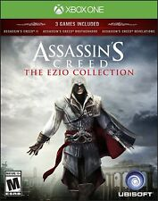 ASSASSINS CREED EZIO COLLECTION XBOX ONE NEW! CREED II, BROTHERHOOD, REVELATIONS