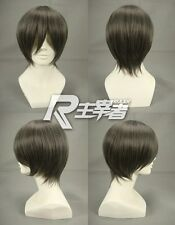 Black Butler Ciel Kuroshitsuji Phantomhive Anime Cosplay Wig +Track +CAP