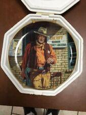John Wayne, - American Legend Collector Plate - Rio Bravo