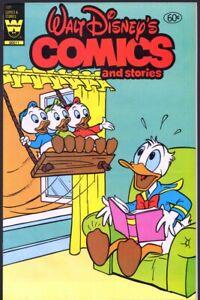WALT DISNEY'S COMICS and STORIES #501 (WHITMAN 1983) VF+