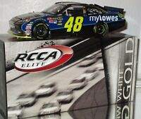 2011 RCCA Jimmie Johnson #48 MY LOWE'S WHITE GOLD ELITE 1/24 Car#13/25 AWESOME