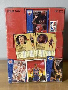1991-92 Fleer Basketball Factory Sealed Box 36 Packs