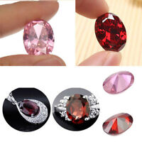 New Natural Pink Sapphire Red Ruby Oval Cut Loose Gemstone DIY Jewelry Making