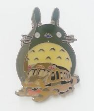 My Neighbor Totoro with Catbus Metal Pin Badge  ~Brand New~ #1