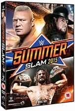 WWE - Summerslam 2015 [DVD] New Sealed UK Region 2