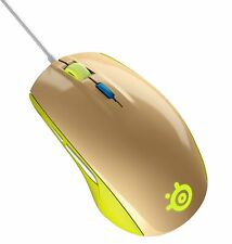 SteelSeries Rival 100 Optical Gaming Mouse | Gaia Green | Brand New
