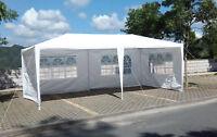 White Outdoor Gazebo Canopy Party Wedding Tent Removable Walls Gazebos10x20/30