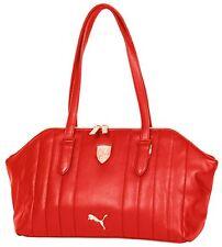 Ferrari Women's Shoulder Handbag Red