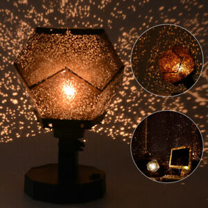 LED Starry Night Sky Galaxy Projector Lamp Star Sky Cosmos Night Light Romantic
