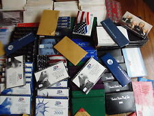 HUGE LOT of Proof Sets Kennedy's,SBA,IKES,SAC,Sale for 1 Random Set Only