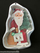 Old World Santa Cake Pan Wilton 2105-2041 Instructions 1999