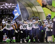 "2014 Super Bowl XLVIII SEATTLE SEAHAWKS ""Team INTRODUCTION"" Licensed 8x10 photo"