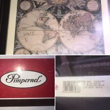 🌟Vintage Pimpernel Antique World Map Placemats 6 Boxed Rare