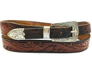 Hamley & Co. Pendleton Oregon Sterling Silver .925 Ranger Belt Buckle Engraved