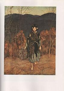 Arthur Rackham Print  - English Fairy Tales