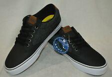Vans Men's Winston Deluxe Black/Grey Skate Shoes - Assorted Sizes NWB