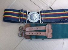 2x British Military Belts.