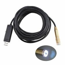 US STOCK 5m Waterproof USB Cable Wire Camera Snake Endoscope Spy Cam 4 LED