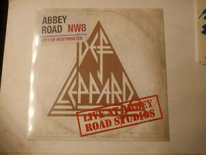 """Def Leppard – Live At Abbey Road Studios - 12"""" Single New Sealed 2018"""