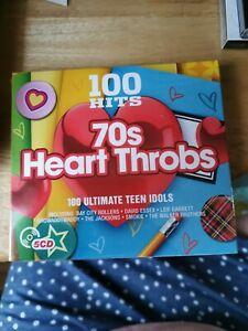 100 Hits - 70s Heart Throbs, Various Artists,  Box set