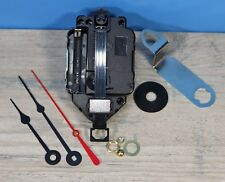 "Quartz Battery Pendulum Clock Movement Lifetime Warranty 1/8"" Thick Dial Spade"