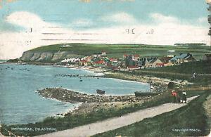 Rare Vintage Postcard - Whitehead, Co. Antrim - Northern Ireland (Aug 1911).