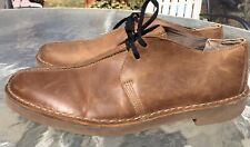 CLARKS Bushacre Trek Oxford Brown Beeswax Sole Desert Shoes 63265 MENS 13 M