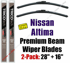 Wipers 2-Pack Premium fit 2013 Sedan & ALL 2014-2018 Nissan Altima 19280/160