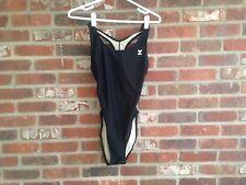 TYR, Black, Racerback   One PC Swim Suit 38